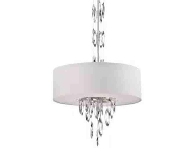 Pendant Light-Platinum Collection Cascade Model by Quizel