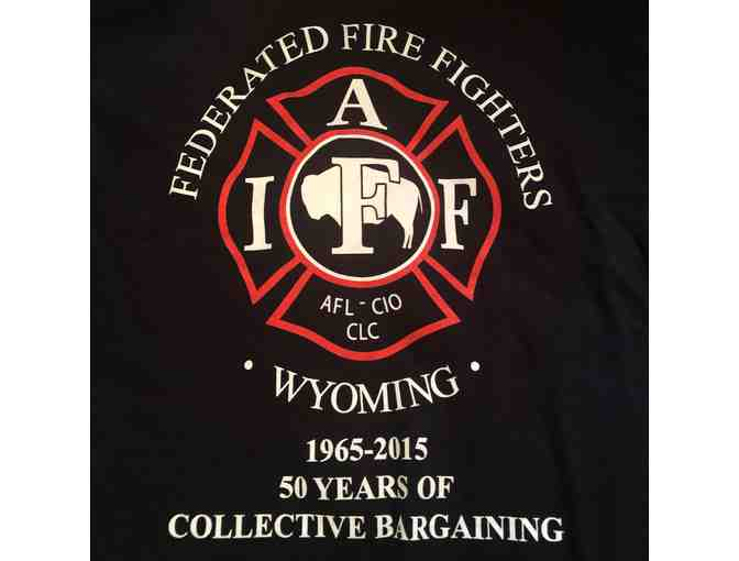 Federated Firefighters of WY Shirt Adult XXL - Photo 1