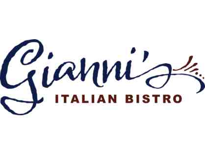 2 for Dinner at Gianni's Italian Bistro in San Ramon, CA