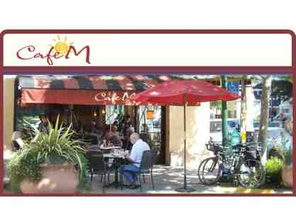 $50 Gift Card - Dine at Cafe M on 4th Street in Berkeley