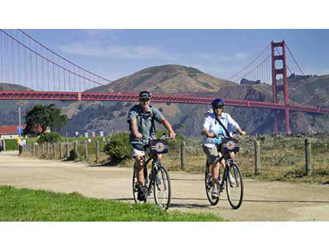 2 RT Tickets on Blue and Gold Ferry to Tiburon PLUS 2 Comfort Bike Rentals - Photo 2