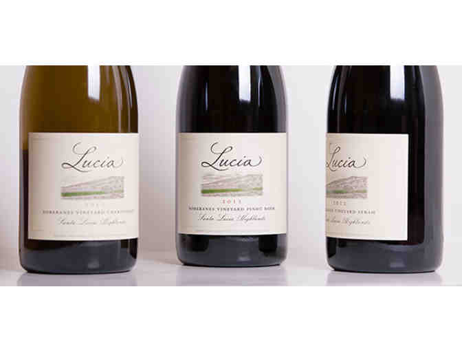 12 Bottles of Pisoni Vineyards' Lucia Chardonnay and Pinot Noir - Photo 2