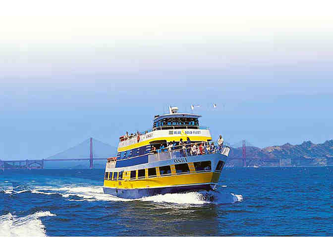 2 RT Tickets on Blue and Gold Ferry to Tiburon PLUS 2 Comfort Bike Rentals - Photo 1