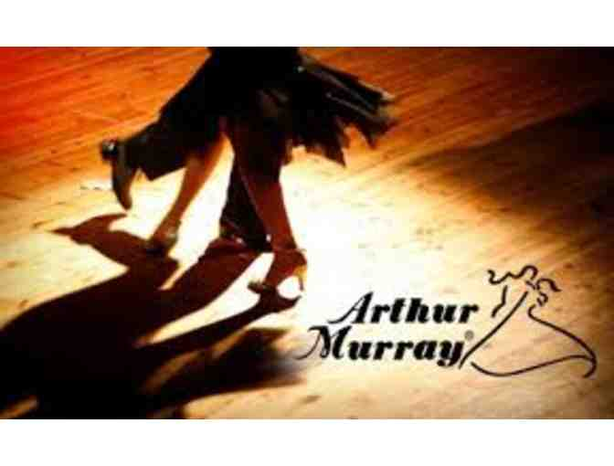 2 Private lessons, 1 group class, 1 parctice at Authur Murry Dance Studios, Long beach CA