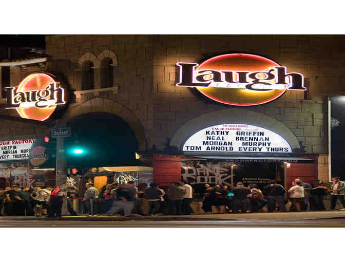 2 VIP Tickets to Laugh Factory in Long Beach, CA