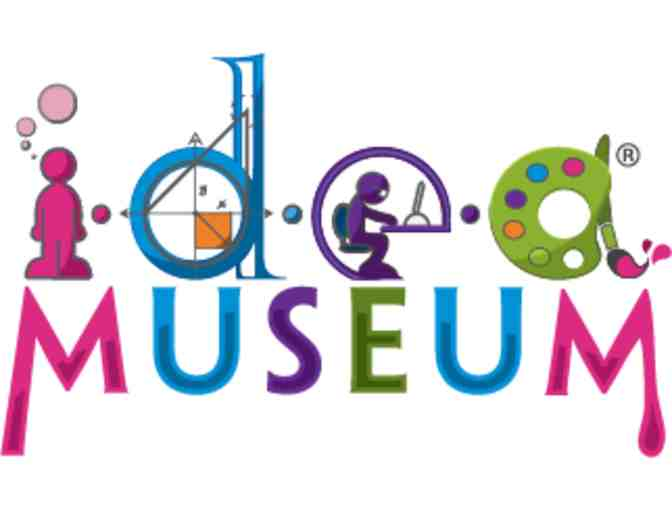 4 Tickets to i.d.e.a Museum - Mesa, Arizona