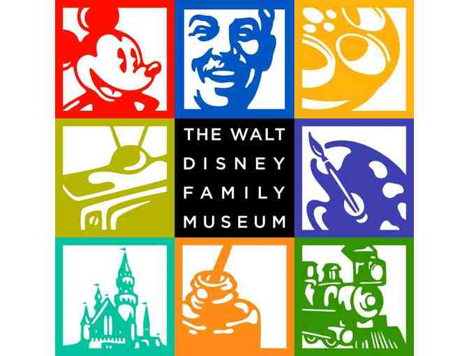 Four General Admission Tickets to The Walt Disney Family Museum - San Francisco, CA