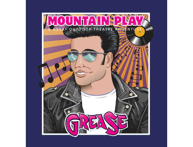 Two General Admission Tickets to  Performance of GREASE- San Rafael, Ca