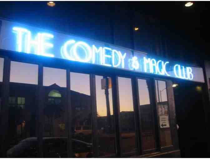 Two Tickets to have some laughs at The Comedy and Magic Club in Hermosa Beach, CA