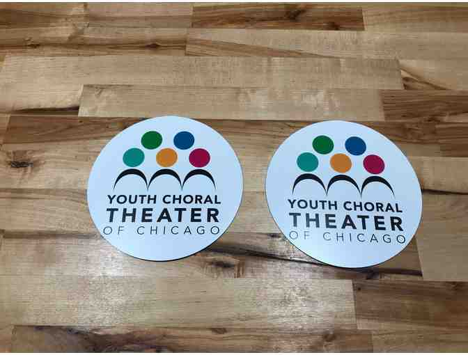 2 Pack of YCT Car Magnets