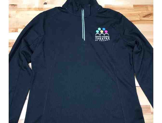 YCT Black Half Zip - Size Ladies Small
