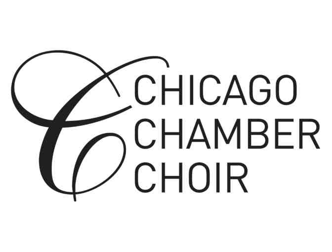 2 Tickets to Chicago Chamber Choir's Fall 2018 Concert