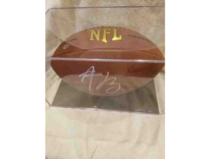 Aaron Rodgers Autographed NFL Football