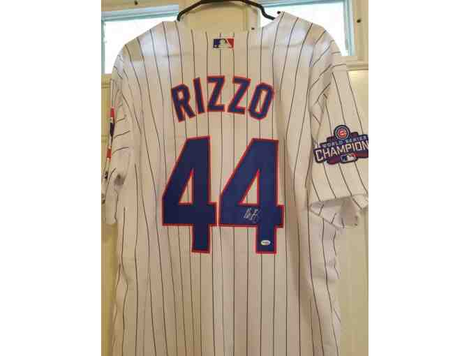 Anthony Rizzo Autographed World Series Jersey