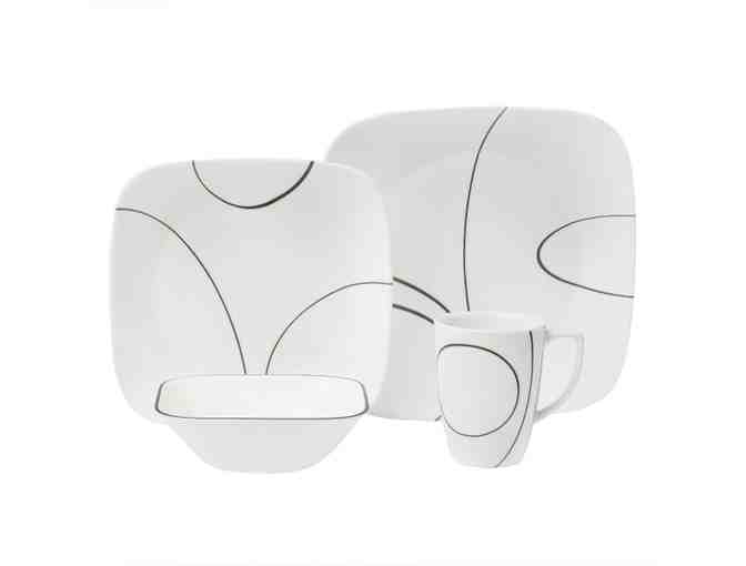 Correll Squarely Stylish Dishes, 16 pcs.