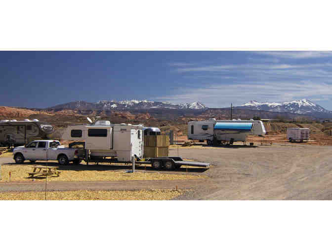 A.C.T. Campground in Moab, Utah-One Night's Stay in a RV Site