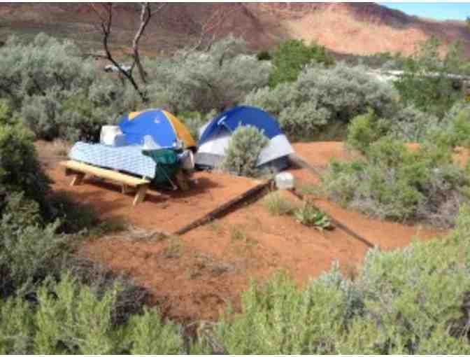 A.C.T. Campground in Moab, Utah-One Night's Stay in a Tent Site