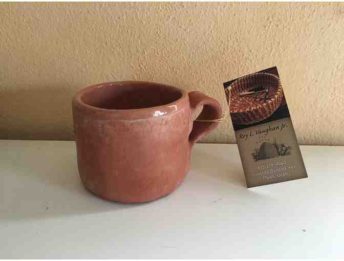 Handcrafted Pottery Mug by Roy Vaughan Jr.