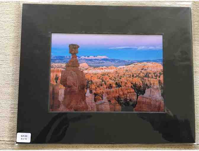 Bret Edge: Thor's Hammer Bryce Canyon National Park 8x10 Matted Photograph