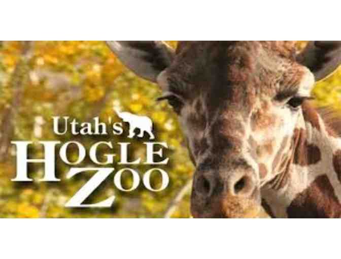 Hogle Zoo in Salt Lake City-Day Pass for 2 People.