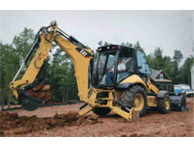 Grand Rental Center-A Day with a Backhoe