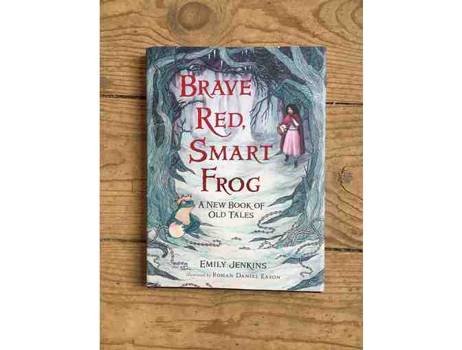 Brave Red, Smart Frog Book from Children's Hour in SLC