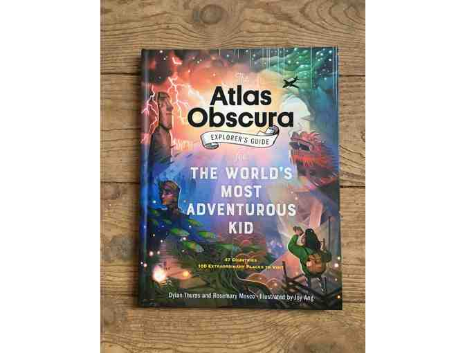 The Atlas Obscura Explorer's Guide for Kids from Children's Hour in SLC