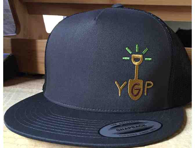 Youth Garden Project Hat!- Charcoal