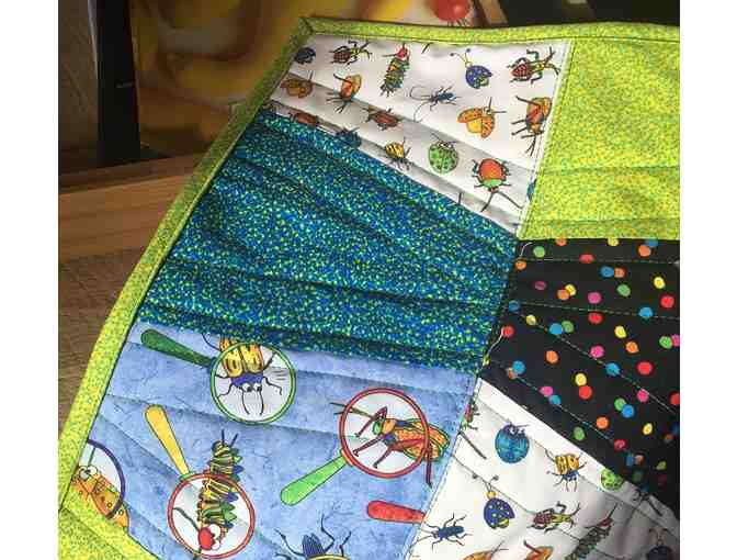 Handmade Baby Quilt by Deb of It's Sew Moab