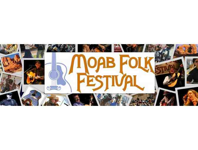 Moab Folk Festival 3 day pass