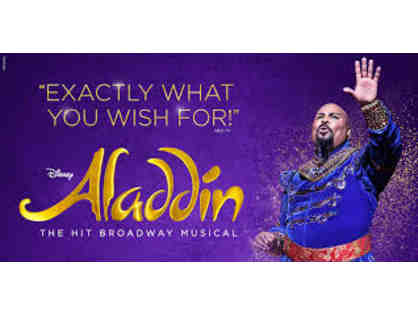 Aladdin on Broadway! Four (4) Orchestra Seats