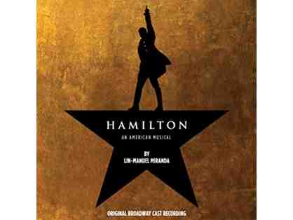HAMILTON on Broadway! Two (2) Orchestra Tickets