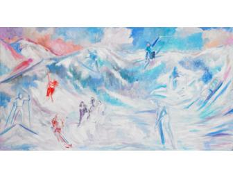 Olympic Dream 2009-2010 by Artist Josee Nadeau