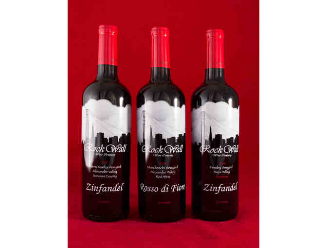 Rock Wall Wine Co. Single Vineyard Selection - 3 Bottles