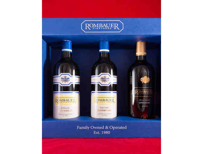 Rombauer Vineyards Zinfandel 3-Pack in Signed Gift Box