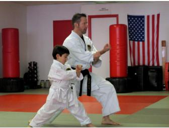 3 months of training in the children's program at Croton Karate