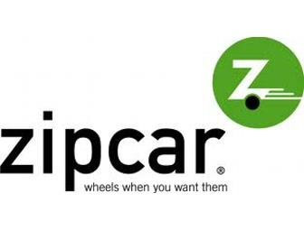 $85 gift certificate for ZIP CAR