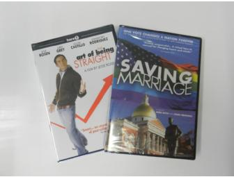 'Saving Marriage' and 'The Art of Being Straight' DVD Package