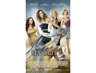 Sex and the City 2 - autographed poster