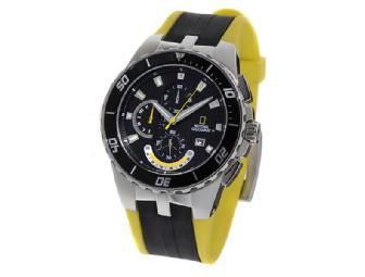 National Geographic Men's Stainless Steel Watch