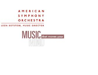American Symphony Orchestra (NYC): 2 Tx to EACH of the Vanguard Series @ Carnegie Hall
