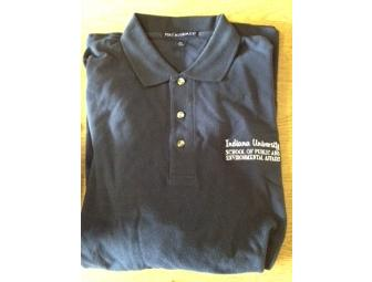 SPEA Navy Blue Polo Shirt, Size XL