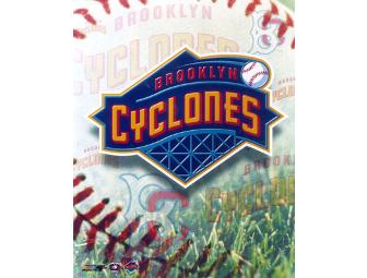 4 Tickets to a Brooklyn Cyclones Game
