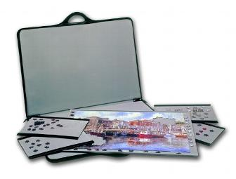 Portable Puzzle Organizer the  JIGSORT 1500