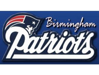 2013 Birmingham Patriots Package