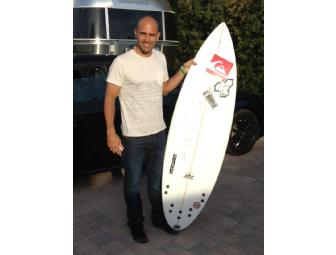 Kelly Slater Board, Signed by Kelly