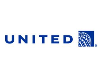 TWO ROUND TRIP AIRLINE TICKETS FROM UNITED!