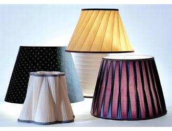 Designer Lighting: One-of-a-kind, Blanche P. Field Custom Lampshade