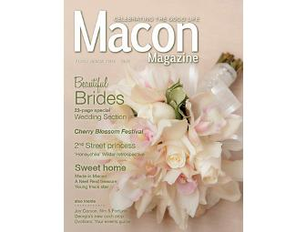One-Year Subscription to Macon Magazine
