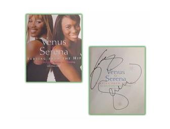 Venus & Serena Williams Dual Hand-Signed 'Serving From The Hip' Book